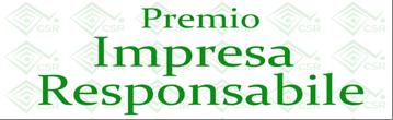 Premio Impresa responsabile 2015 - Dal 6 luglio al 7 agosto 2015: Bando e iscrizione on line