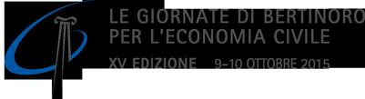 Le Giornate di Bertinoro per l'Economia Civile - XV edizione - 9-10 ottobre 2015