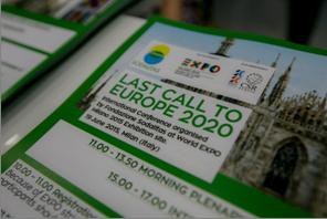 """I contenuti e i protagonisti di """"LAST CALL TO EUROPE 2020"""" Expo Milano - 19 giugno 2015"""