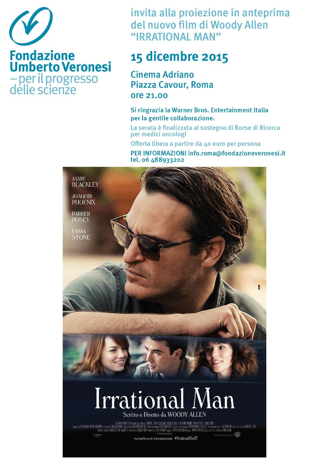Invito Cinema IRRATIONAL