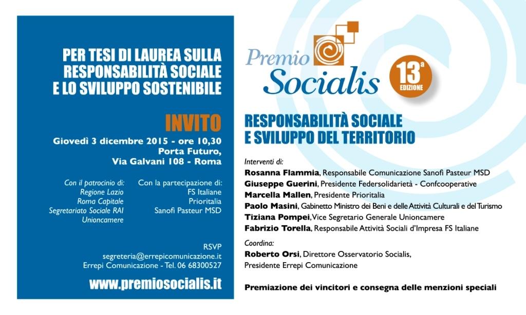 invito_PREMIO SOCIALIS 2015