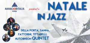 """Concerto Jazz di Natale in favore dell'ONLUS """"Casa Famiglia"""" della Nuova Arca di Roma - 13 dicembre 2015 ore 18.00 - Auditorium del Massimo - Via M. Massimo, 1 - Roma Eur"""