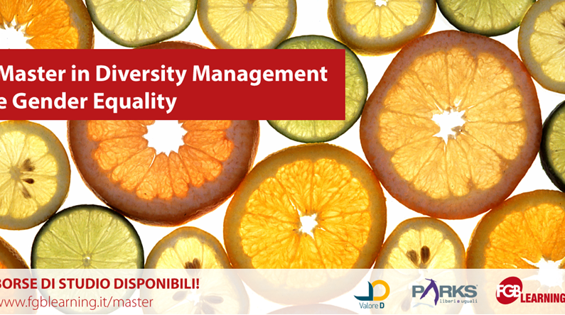 Anima tra i partner del Master in Diversity Management e Gender Equality