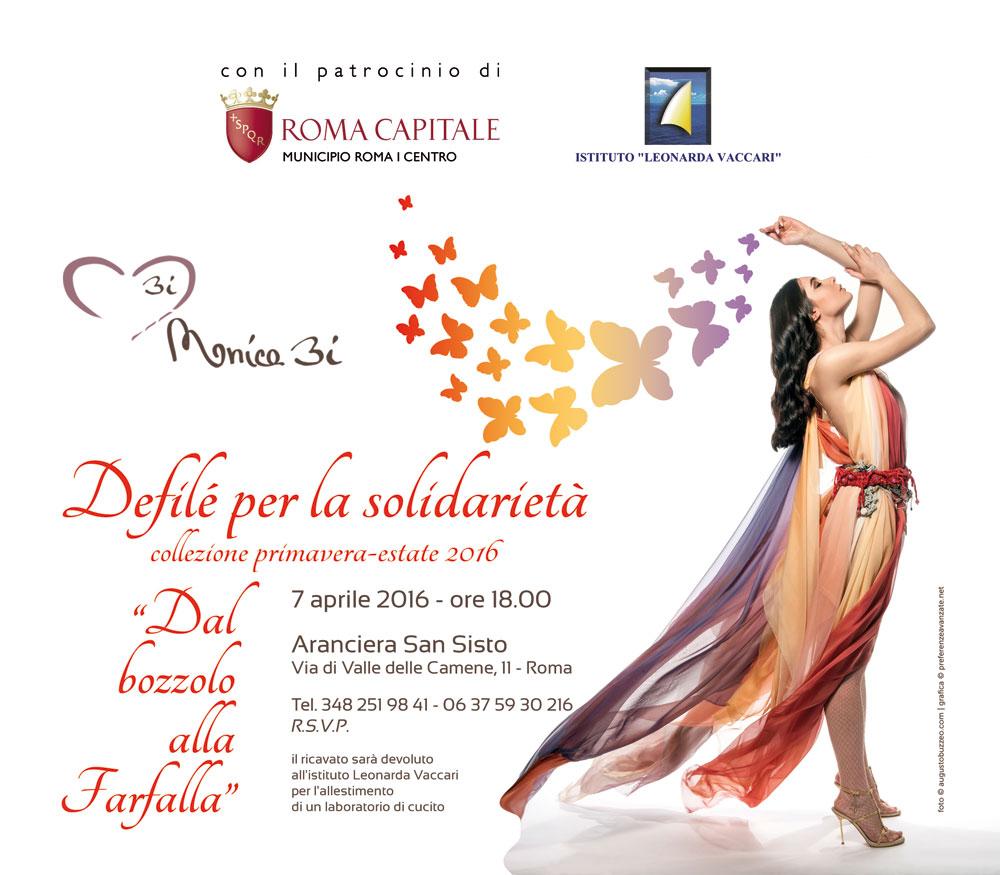 Invito Defilè 7 aprile 2016