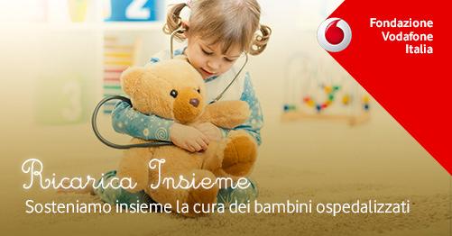 Ricarica insieme Fondazione Vodafone