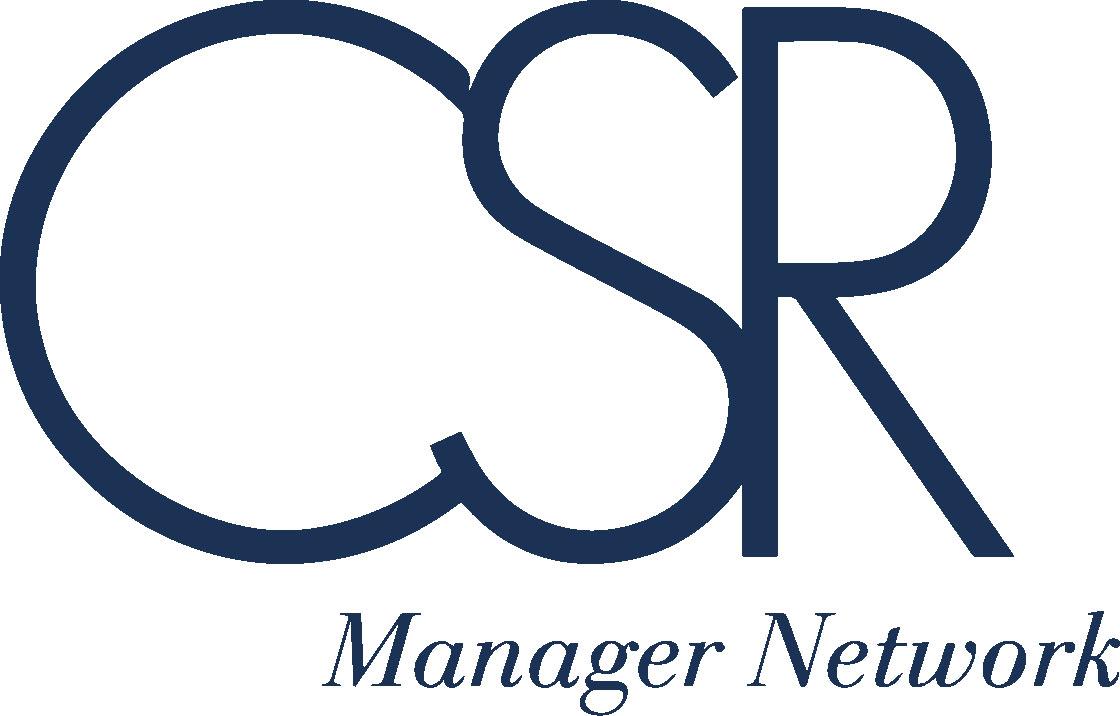 CSR Manager Network logo blu