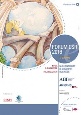 FORUM CSR 2016 - Roma - 1 e 2 dicembre - Palazzo Altieri - Piazza del Gesù, 49