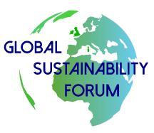 Global Sustainability Forum - Roma, 2-3-4 Maggio 2017