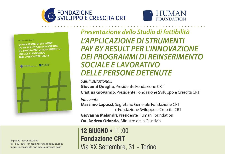 human foundation 12 giugno 2017 invito