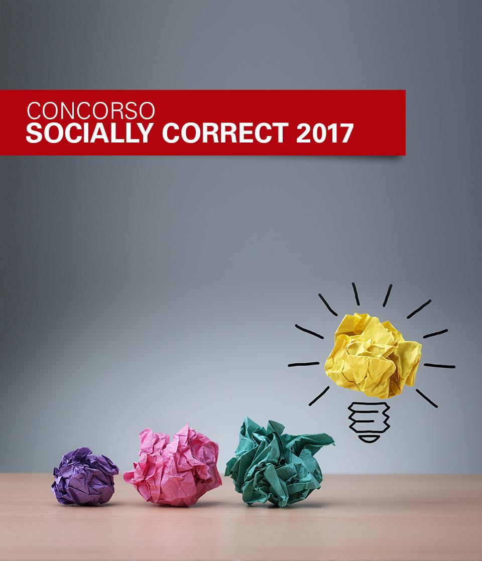 Concorso Socially Correct 2017: 0-3 un futuro da proteggere - 15 luglio 2017 – ore 17 – Sala Pegasus – Via delle Terme - Spoleto