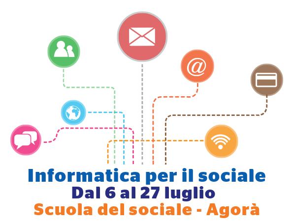Seminario Gratuito – Informatica per il Sociale - Innovazione e tecnologia per il Terzo Settore - Dal 6 al 27 luglio 2017