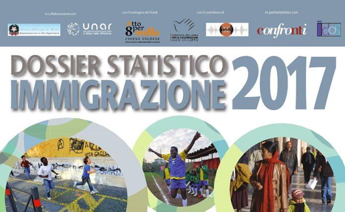 Dossier Statistico Immigrazione 2017 - 26 ottobre 2017 - ore 10.30 - Nuovo Teatro Orione - Via Tortona, 7 - Roma