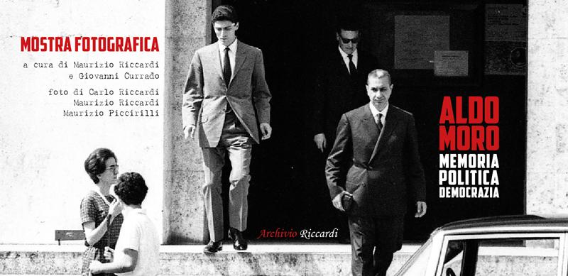 """""""Mostra Fotografica Aldo Moro. Memoria, politica, democrazia"""" - dall'8 al 16 Novembre 2018 - Camera dei Deputati - Complesso di Vicolo Valdina - Ingresso di Piazza Campo Marzio, 42 – Roma"""