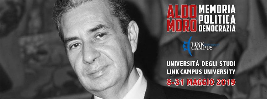 """Mostra Fotografica """"Aldo Moro - Memoria, politica, democrazia"""" - Dall'8 al 31 Maggio 2019 - Università degli studi Link Campus University - Via del Casale di S. Pio V, 44 – Roma"""
