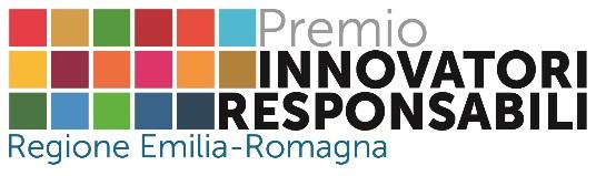 """Premio ER.RSI """"Innovatori responsabili"""" - 5a Edizione 2019"""