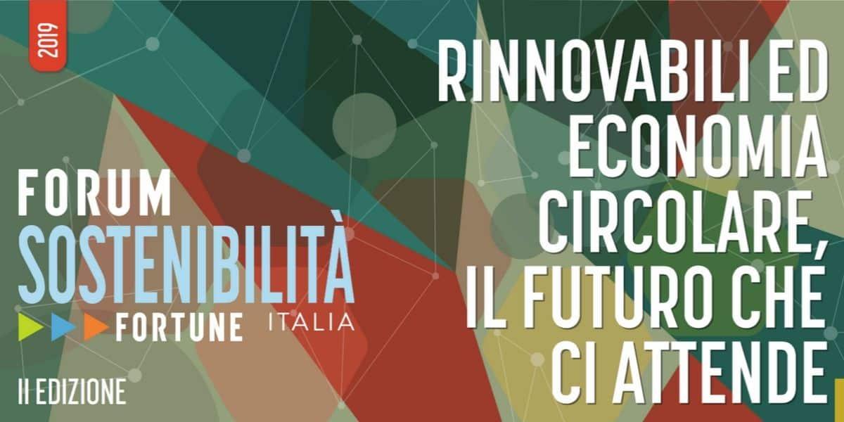 FORTUNE FORUM SOSTENIBILITA' - 21-22 Novembre - Maxxi- Roma
