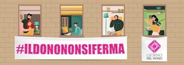 Primo monitoraggio dell'IID #ILDONONONSIFERMA - Appuntamento online il 17 aprile - ore 11,30