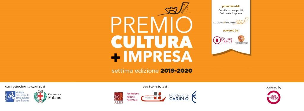 Premio Cultura + Impresa 2019-2020: Webinar di Premiazione - 20 Luglio 2020 - ore 10 - 11:30 - live streaming