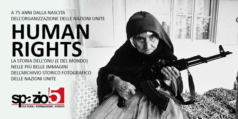 """Mostra """"Human Rights - dal 24 ottobre al 28 novembre 2020 - """"Spazio5"""" - via Crescenzio 99/D"""