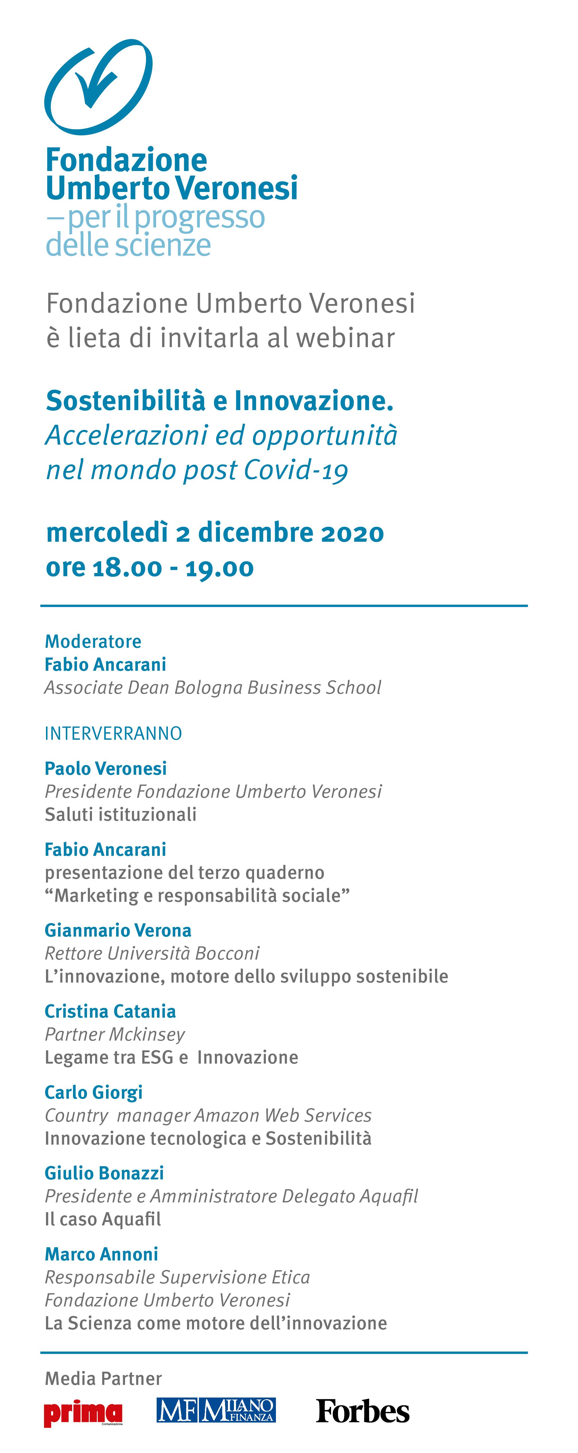 Incontro Sostenibilità e Innovazione_Fondazione Umberto Veronesi_2 dicem...