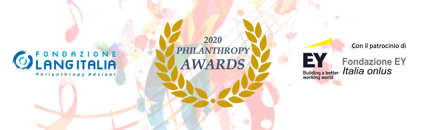 Philanthropy Awards 2020 – Premiazione - 22 febbraio