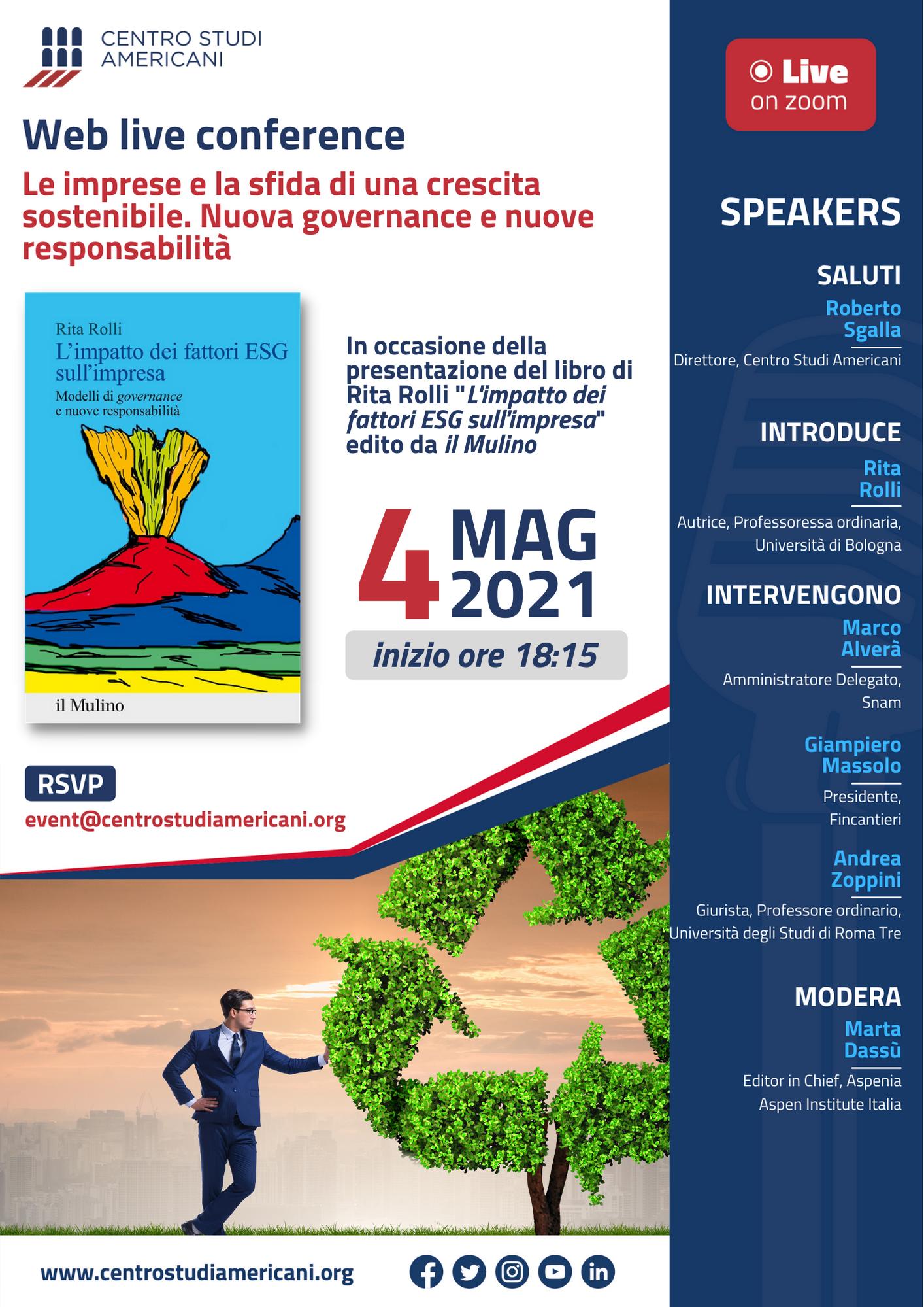 web live conference 4 maggio