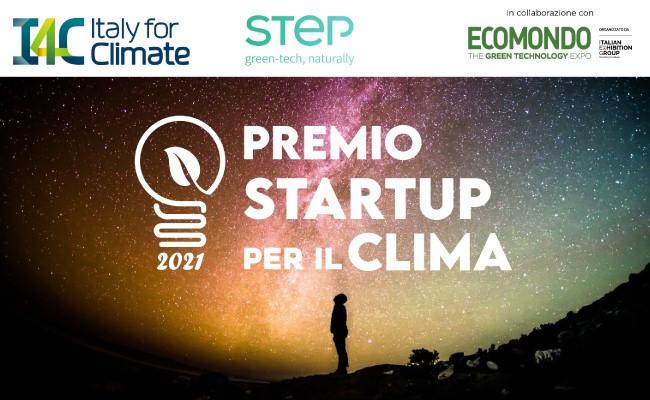 Premio Startup per il clima 2021 - Aperto il bando
